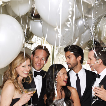 Host a Razzle-Dazzle New Year's Eve Cocktail Party
