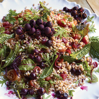 farro grape salad