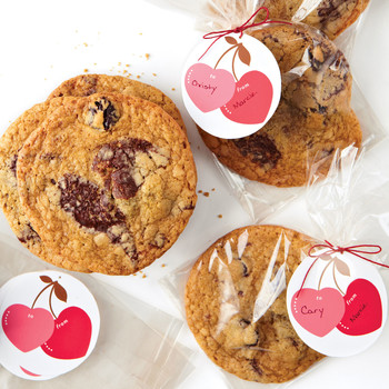 Chewy Chocolate Chunk-Cherry Cookies