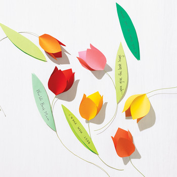 Mother's Day Paper Tulip Cards