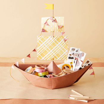 paper mayflower thanksgiving craft