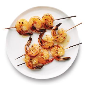 Lime-Glazed Shrimp