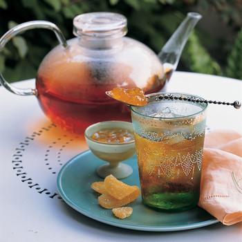 Smoky Iced Tea