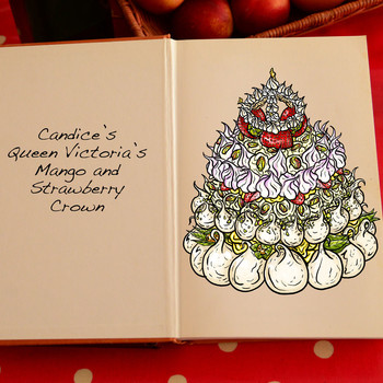 Cake illustration by artist Tom Hovey