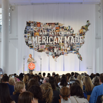 martha stewart at 2016 american made event