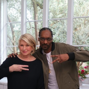 Martha and Snoop Were Nominated for MTV's First-Ever Movie & TV Awards!
