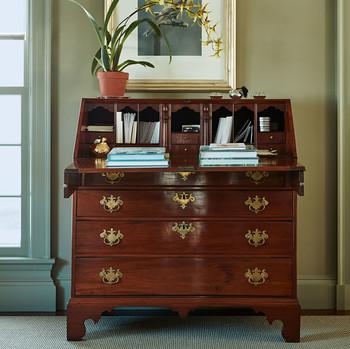 desk refurbish after
