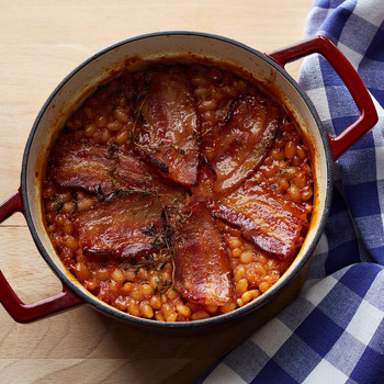 baked beans bacon