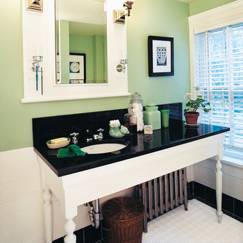 Bathing Beauties: The Simple Ideas Behind 2 Stylish Bathroom Makeovers