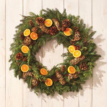 Pinecone Bird-Feeder Wreath