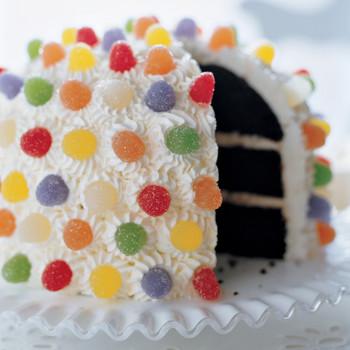 candy mountain kids cake