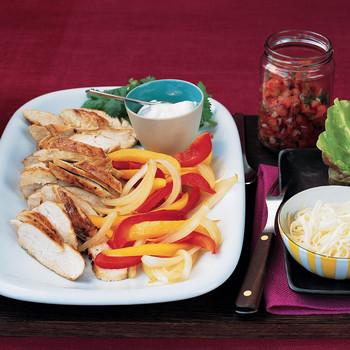 Chicken and Pepper Fajitas