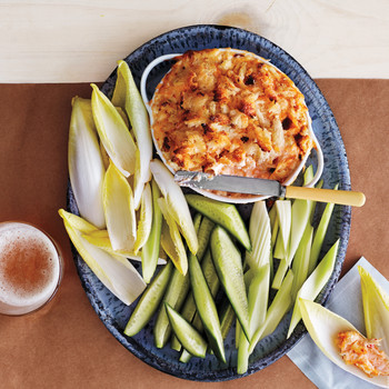 Hot-Crab and Pimiento-Cheese Spread