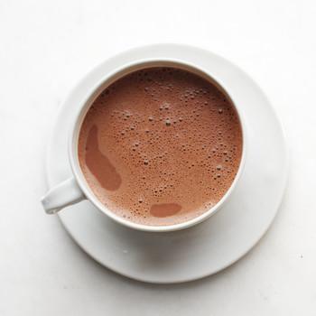 Spiced Hot Dark Chocolate