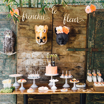 """Frenchie Le Fleur"": A Doggone Adorable Kids' Birthday Party"