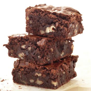 Gluten-Free Fudgy Pecan Brownies