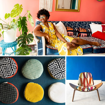 Nicole Crowder's upholstery