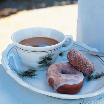 Rachel Good's Glazed Potato Doughnuts