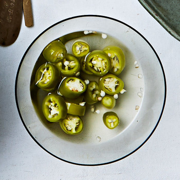 quick pickled chiles