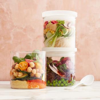 Soups in jars