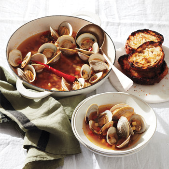 Spanish Clam Soup
