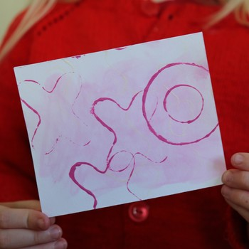 Kid Craft: Scented Valentine's Day Cards