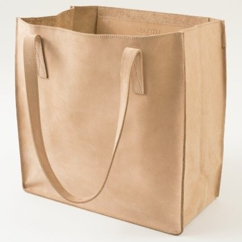 Zazzle-Ubuntu Made Leather Tote Bag