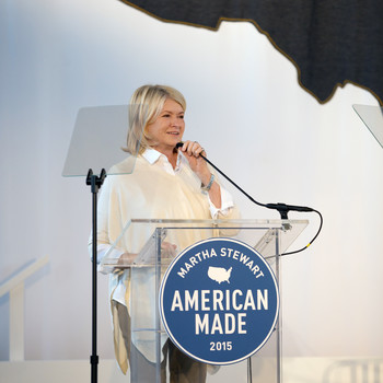 Exclusive! Inside the Star-Studded 2015 Martha Stewart American Made Summit