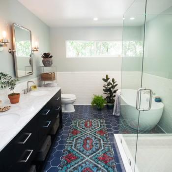 Bathroom Design: A Very '80s WC Gets a Major Modern Makeover