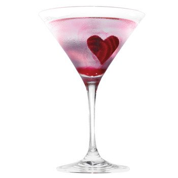 Beeting-Heart Martini