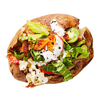 blt baked potato