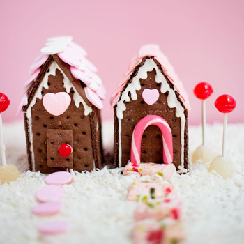 Valentine Cookie Houses