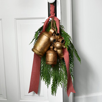 cedar and brass bells