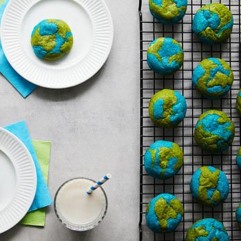 Celebrate Earth Day by Baking a Batch of Planet-Inspired Sugar Cookies