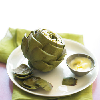 Easy Steamed Artichokes