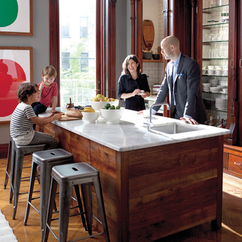 home tour a family oriented brownstone in brooklyn