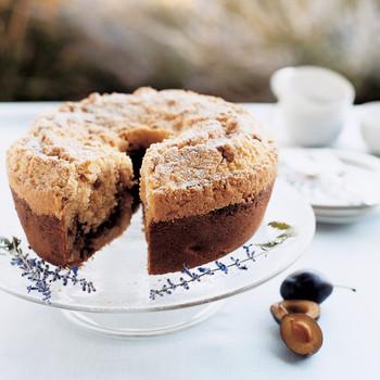 Plum and Pinon Coffee Cake