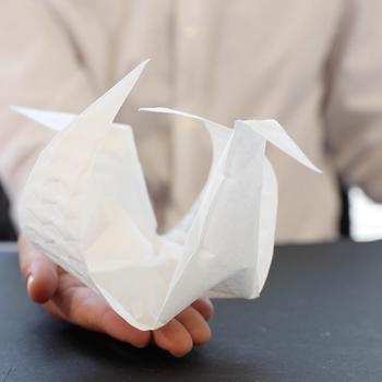 MIT self-folding origami paper