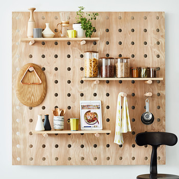 space saver peg board