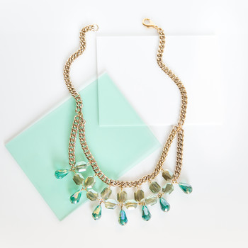 How to Make a St. Patrick's Day Statement Necklace