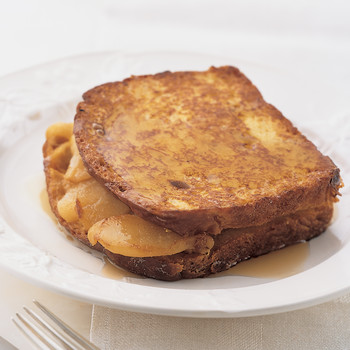 Mrs. Kostyra's Pear-Stuffed French Toast