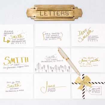 Artful Envelopes to Light Up Your Holiday Season