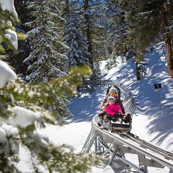 snowcoaster at Aspen Snowmass