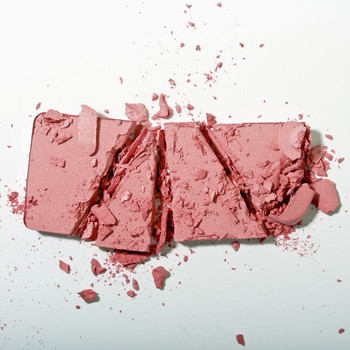 cracked powder blush
