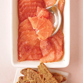 Grapefruit Gratin