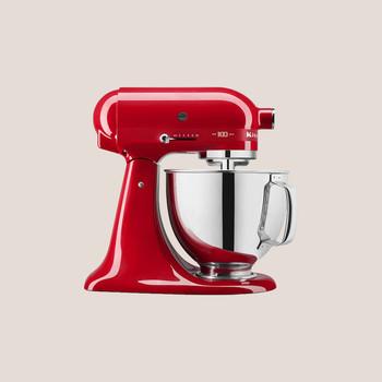 kitchenaid red mixer