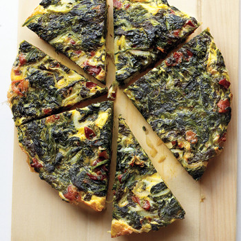 Spinach-Bacon Frittata