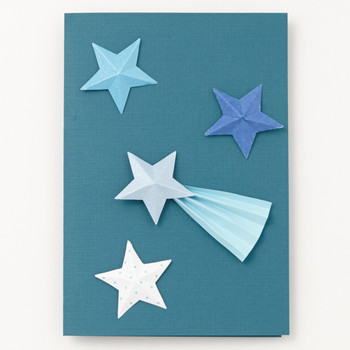 Shooting Star Father's Day Card