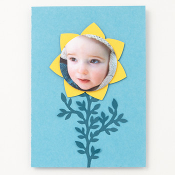 Son-Flower Father's Day Card