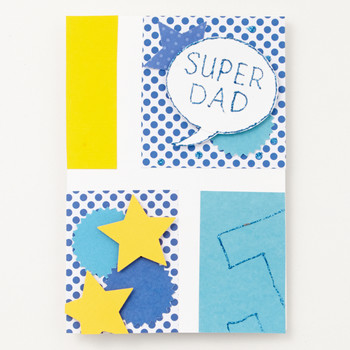 Super Dad! Father's Day Card